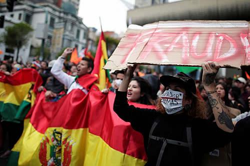 Misión OEA expresa preocupación por resultado electoral y pide respetar voto en Bolivia