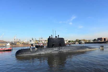 """Confirman que """"ruido"""" detectado en el Atlántico no es del submarino argentino"""