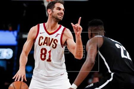 Debut espectacular y ganador de Calderón como titular de Cavaliers