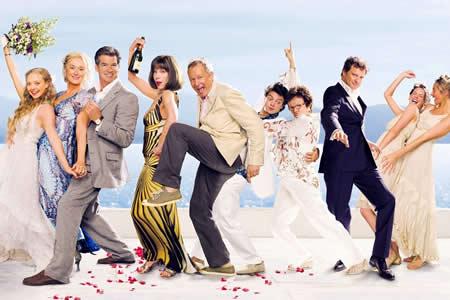 """Finaliza el rodaje de la segunda parte de """"Mamma Mia"""""""