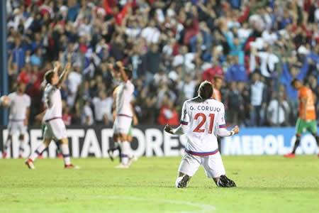 Un gol en la agonía mete a Nacional en el Grupo 6 de la Libertadores
