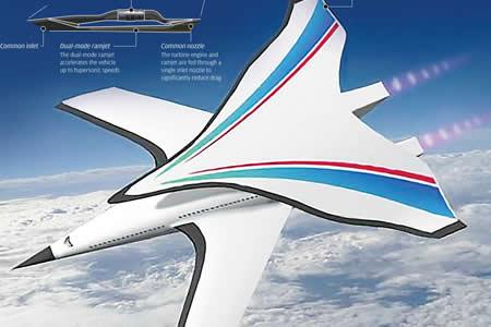 Diseñan en China avión ultrarrápido que unirá Pekín y Nueva York en 2 horas