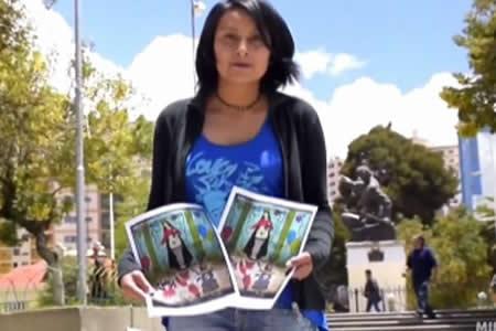 Anuncian acciones legales contra artista que pintó a la Virgen del Socavón con ropa interior