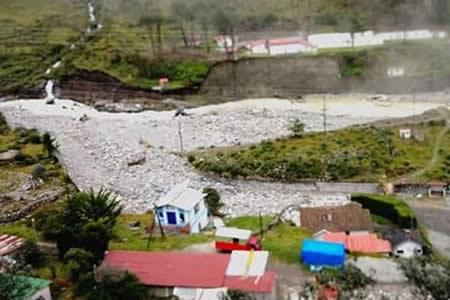 Declaran desastre a 11 comunidades en la vía a Zongo