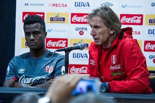 Gareca confía en sacar muchas conclusiones para Perú en partido ante Croacia