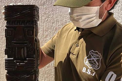 Boliviano es detenido en Chile con droga oculta en artesanía