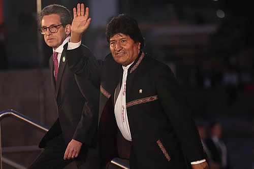 Morales se reunirá con presidentes de Rusia y China en junio