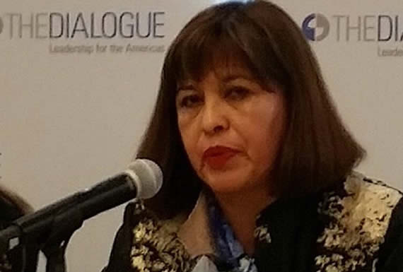 Exministra Nardi Suxo es designada Embajadora en Austria