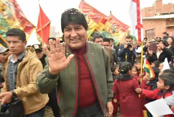 Morales: la mentalidad de la derecha está orientada a que los pobres no tengan nada