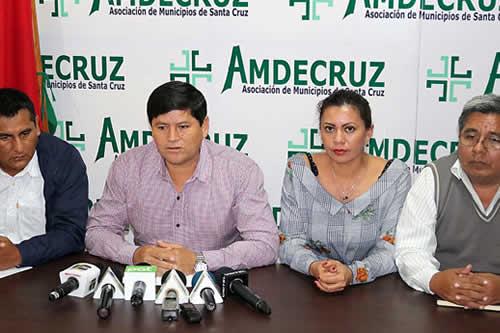 Municipios alistan huelga por regalías IDH; Gobernación ve móviles políticos