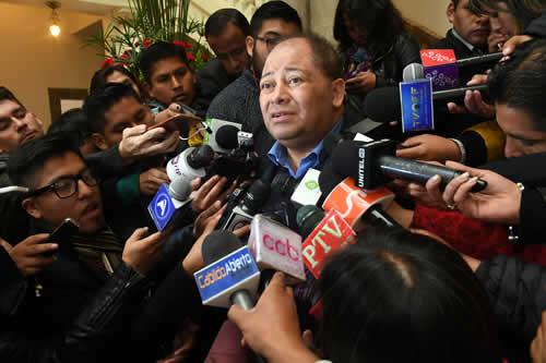 Romero: EEUU emite descertificaciones porque no admite resultados del proceso de cambio en Bolivia