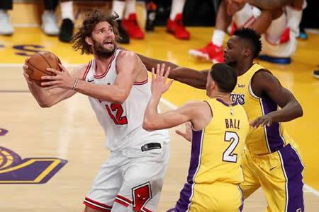 Kuzma y los Lakers remontan para conseguir triunfos seguidos