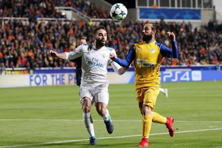 UEFA abre expediente a Carvajal por provocar amarilla ante Apoel