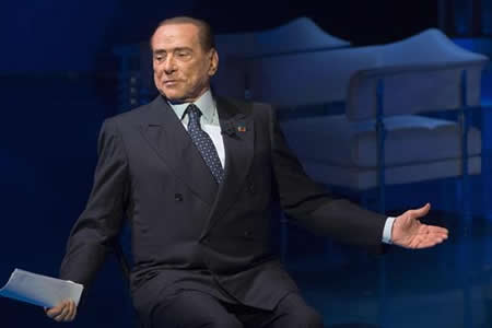 Berlusconi defiende credibilidad de inversores chinos que compraron el Milan