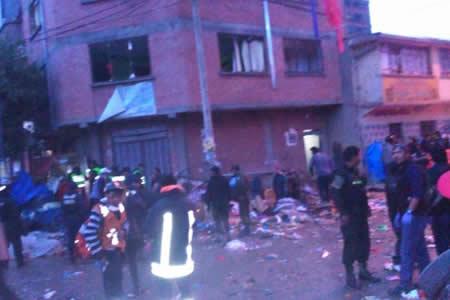 Gobierno ofrece Bs 150.000 de recompensa a quien dé datos del autor de explosiones en Oruro