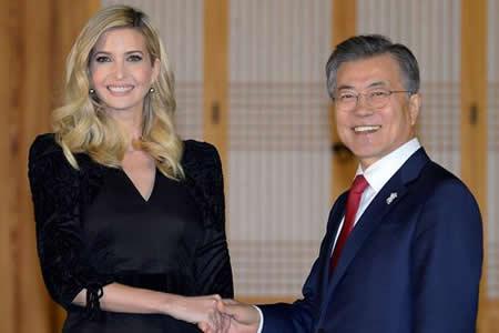 Ivanka Trump llega a Seúl rodeada de expectación por presencia norcoreana