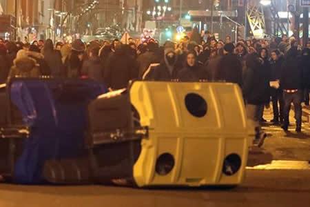 Uno de los rusos heridos en Bilbao presentaba una puñalada en la espalda