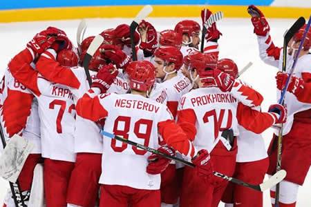 Equipo de Deportistas de Rusia a la final tras ganar a República Checa (3-0)