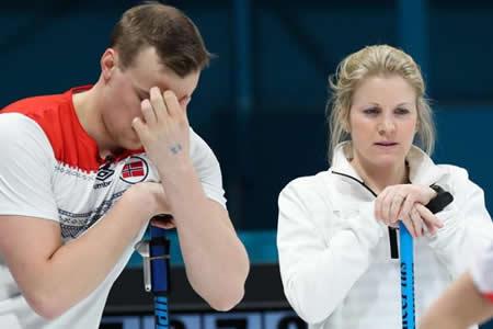 El mixto noruego regresan para recibir el bronce tras el dopaje ruso