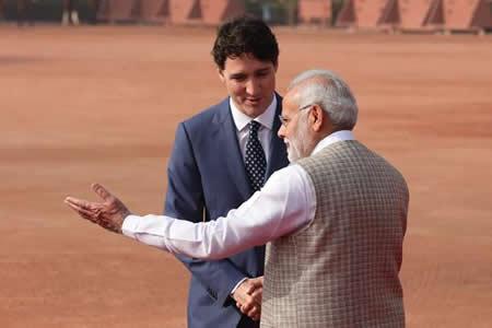 Trudeau concluye un controvertido viaje oficial a la India