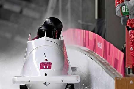 La atleta rusa de bobsleigh Nadezhda Serguéyeva da positivo en Pyeongchang