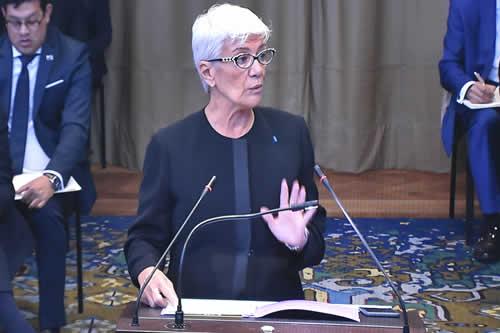 Ninguna resolución de la OEA crea obligación de negociar ni habla de litigio, sólo son recomendaciones: Pinto