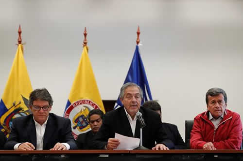 Cese del fuego en Colombia entrará en etapa de verificación el 2 de abril