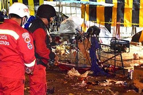 Centran sospechas en allegado de víctimas de explosión