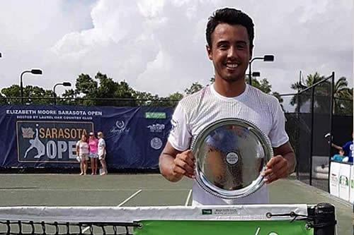 Presidente felicita a tenista boliviano Hugo Dellien por primer título profesional en EEUU