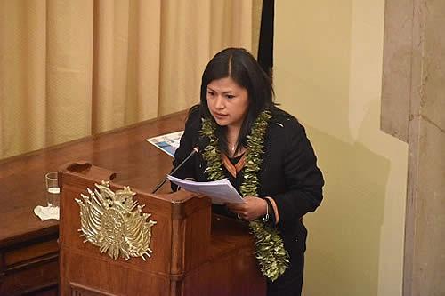 Legisladoras de 23 países participarán en Cumbre de Presidentas de Parlamentos de Cochabamba