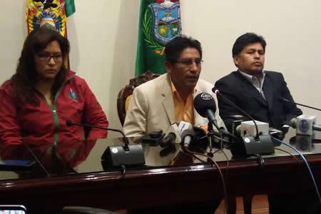 Félix Patzi confirmó que cerrarán el estadio Hernando Siles