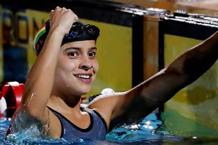 Karen Tórrez, la nadadora con mente de campeona que enseña a Bolivia a ganar