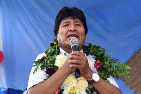 Morales: El sueño de Bolivia es exportar GNL a otros continentes