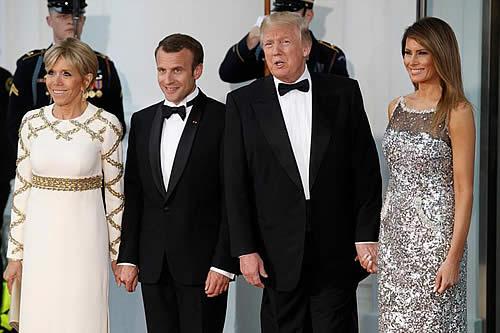 Trump y Macron estrechan lazos y abren la puerta a un nuevo acuerdo con Irán