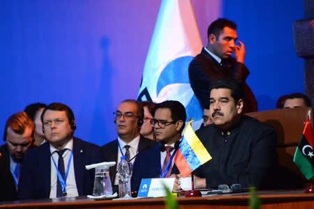 """Maduro califica de """"éxito total"""" Foro del Gas de Santa Cruz y asegura que marcará un hito para ese energético"""