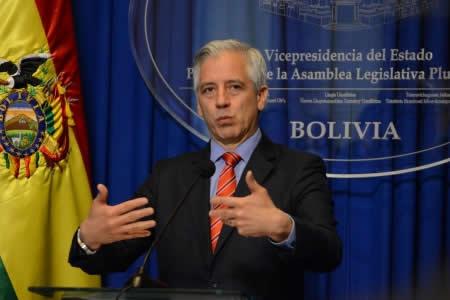 """García Linera propone crear un """"prontuario"""" de agresores para acabar con la violencia a la mujer"""