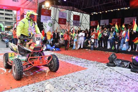 Wálter Nosiglia: Ojalá el Dakar pase otra vez por Bolivia