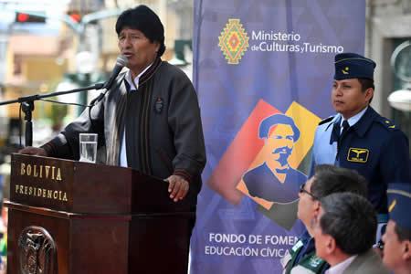 """Bolivia reafirma que no hubo """"guerra del Pacífico"""" sino invasión por parte de Chile"""