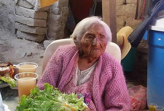 Falleció mamá Julia a los 118 años, la mujer más longeva del país