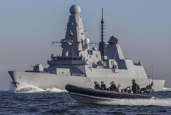 Reino Unido envía otro buque de guerra al golfo Pérsico