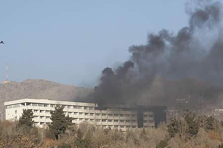 La ONU condena el ataque talibán en el Hotel Intercontinental de Kabul