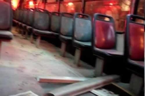Presidente Perú pide indignarse por caso mujer quemada por hombre en autobús