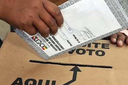 Arranca referendo en 10 municipios del país para aprobar o no sus cartas orgánicas