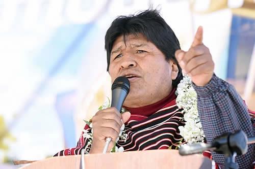 Morales expresa solidaridad con Perú tras terremoto y dispone apoyo pleno frente a cualquier emergencia