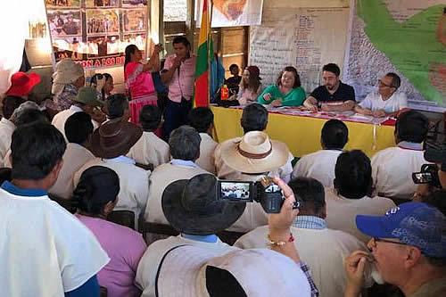 """Comunidades del TIPNIS rechazan posicionamientos del """"mal llamado"""" Tribunal de los Derechos de la Naturaleza"""