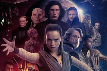 """""""Star Wars"""" celebra la Navidad como líder de la taquilla en EE.UU."""