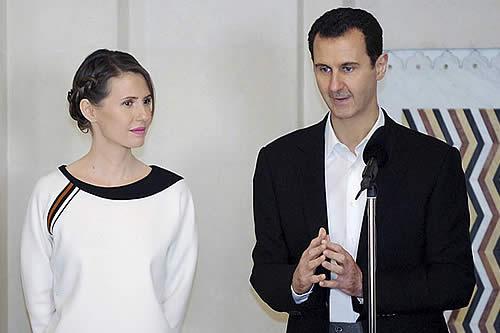 Siria: Operan con éxito a la esposa de Assad, que padece cáncer de mama
