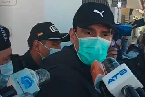 """José María Leyes es aprehendido y dice """"esto viene por orden de Murillo"""""""