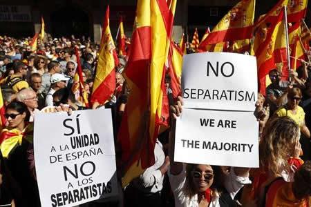 El contencioso catalán vive un año de tensión y medidas inéditas del Gobierno español