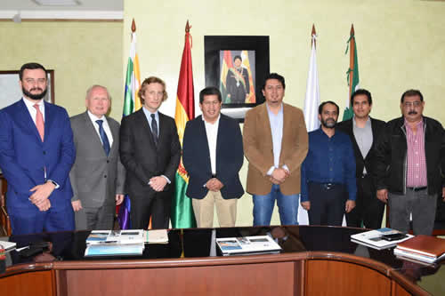 Rusa Acron expresa interés en comprar gas boliviano para producción de fertilizantes